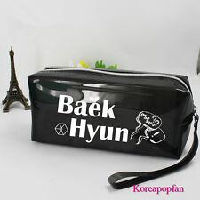 EXO LOVE ME RIGHT BAEK HYUN BAEKHYUN pencil case makeup-bag KPOP New