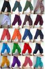 YOGA Massage Thai Fisherman Pants 3/4 Length Pocket Wrap Men & Women Free Size