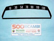 FIAT 500 L VETRO CONTACHILOMETRI FONDINO SCALA 130 Km/h PER TACHIMETRO CRUSCOTTO