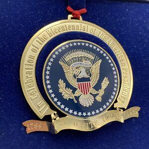 1989 White House Historical Association Christmas Ornament Bicentennial Edition