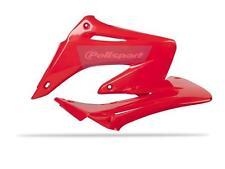 palette di radiatore HONDA CR CR 125 / CR 250 02 - 07 Rosso CR Motocross MX EVO