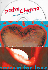 PEDRO & BENNO - Scream for love CD SINGLE 2TR Dutch Cardsleeve 1998 Trance