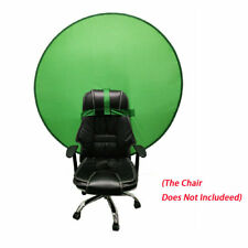 Green Backdrop Background Screen Portable 4.65ft for Photo Video Studio Round