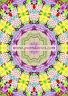 Mandala card, drawn and printed in the UK, birthday, blank greetings hippy boho