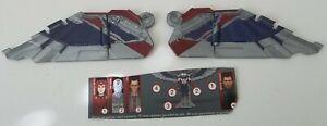Lot Marvel Legends Sam Wilson Captain America Flight Gear BAF Both Lower Wings