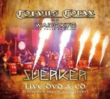 CORVUS CORAX/WADOKYO - SVERKER LIVE  CD + DVD ROCK DARK WAVE MITTELALTER NEW+