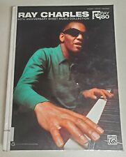 RAY CHARLES 80TH ANNIVERSARY HARDCOVER SONGBOOK PIANO VOCAL GUITAR MUSIC BOOK
