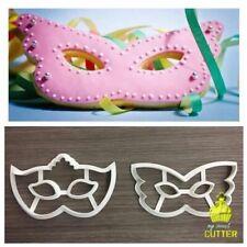 Maschere Carnevale Formine Biscotti Cookie Cutter 11cm