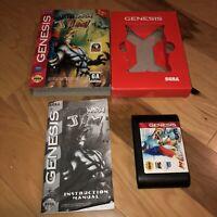 Sega Genesis Game EARTHWORM JIM *Cardboard Variant* Authentic Complete Tested