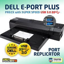 Dell USB 3.0 E-Port Plus M4800 M6400 M6700 M6800 3510 7510 7710  Docking Station