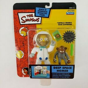 The Simpsons Deep Space Homer World of Springfield Interactive Figure NEW SEALED