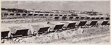 D5100 Roma - Carrelli per trasporto materiale scavato - Stampa - 1938 old print