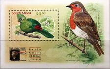 RSA South Africa South Africa 2000 Block 80 the stamp show London Birds Birds MNH
