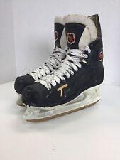 CCM 851 Tacks Vintage ice hockey skates size 8 D senior sr sz rare tacks vtg