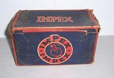 Leerer Originalkarton Impex Fahrrad um 1930 Oldtimer Accessoire !