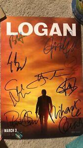 The Wolverine: Logan Signed Movie Poster Autograph A3 420X285MM9 Cast Jackman