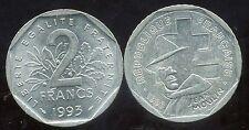 FRANCE 2 francs  jean MOULIN 1993  ( ca )