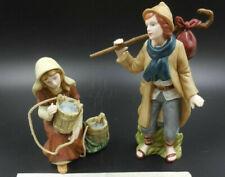 Hawthorne Village Thomas Kinkade Nativity Faithful Wayfarer & Thirst No More