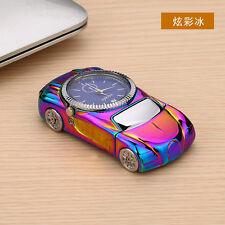 Colorful Multifunctional Windproof Cigarette Lighter Sports Car Quartz Watch