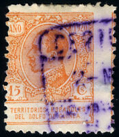 GUINEA 145 USADO CERTIFICADO ELOBEY ALFONSO XIII