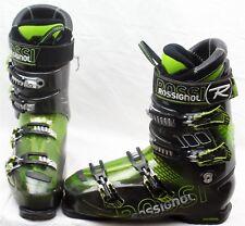 Rossignol Alias Sensor 100 Mens Ski Boots Mondo 30.5 Mens 12.5 Black/Green-USED