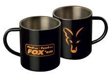 Fox - Nouveau pêche à LA CARPE ACIER INOXYDABLE Tasse