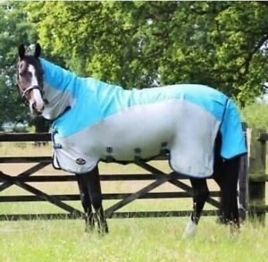 """GALLOP Turnout 5.6"""" Combo Fly Rug (Waterproof upper, mesh sides)"""