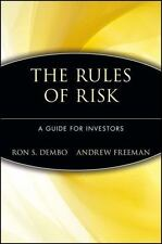 Seeing Tomorrow: Rewriting the Rules of Risk Ron S. Dembo, Andrew Freeman Hardc