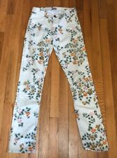 Citizens Of Humanity Floral Women's Skinny Jeans Size 24 Size 2 US