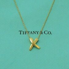 TIFFANY & Co. 18K Gold Paloma Picasso X Pendant Necklace