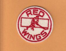 VINTAGE 1950's DETROIT RED WINGS RARE 2 inch PATCH UNUSED UNSOLD STOCK