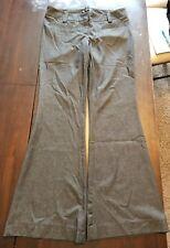 inc dress pants size 10 Gray Black WPL 8046