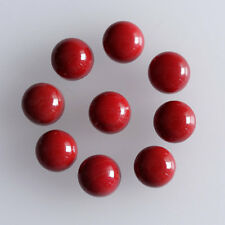 10MM Round Shape, Coral Calibrated Cabochons AG-231