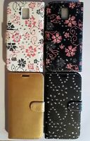 Book, wallet style PU leather flip phone case, cover for Samsung Galaxy S5 i9600