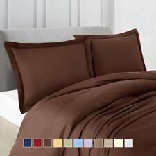 Split King Bed Sheet Set 100% Luxury Soft Solid Wrinkle Free Brushed Microfiber