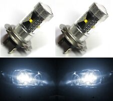 LED 30W H7 White 5000K Two Bulbs Head Light High Beam Replacement Lamp Fit