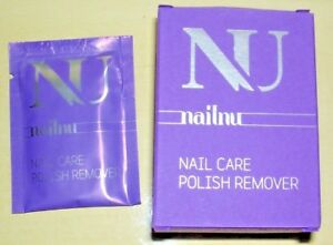 """NU nailnu nail care polish remover 10  tissues new in box """"You Are The Star"""""""