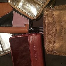 Anthropologie FREE PEOPLE LIEBESKIND LEATHER Wallet red BROWN BLACK GOLD SILVER