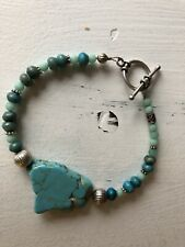Turquoise Bracelet and Sterling Silver .925