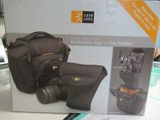 Case Logic Black Destination Bag Camera Bag + Day Holster - NEW in Box