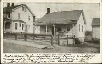 Plainfield CT Post Office c1905 Postcard