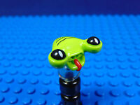 LEGO-MINIFIGURES SERIES 1,2[3] X 1 HEAD FOR THE SPACE ALIEN FROM SERIES 3 PART