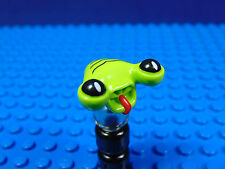 LEGO-MINIFIGURES SERIES 1,2[3] X 1 HEAD FOR THE SPACE ALIEN FROM SERIES 3
