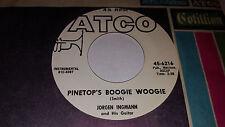"JORGEN INGMANN Pinetop's Boogie Woogie / Violetta PROMO 7"" Atco 45-6216 (1962)"