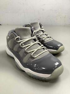 Boy's Jordan 11 Retro Low Cool Grey (GS) Shoes Size 7Y