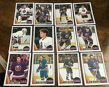 1987-88   O-Pee-Chee  NEW YORK ISLANDERS 12 card team set/lot