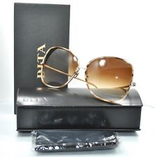 d2b3daac829 NEW DITA BLUEBIRD TWO 21011-B-BRN -GOLD-65 Sunglasses.