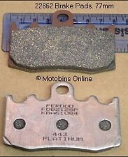 FRONT BRAKE PADS FERODO FDB2125P FITS BMW R1200 SERIES - SEE LISTING FOR DETAILS