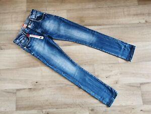 * VINGINO * COOLE Jeans Hose - Gr. 14 - 158 / 164 Jungen - BLAU - TOP !