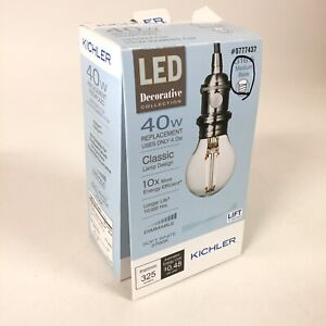 Kichler LED Decorative Diana Collection 40W Replacement Bulb Classic Lamp